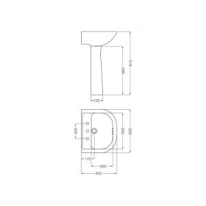 plano lavatorio bari