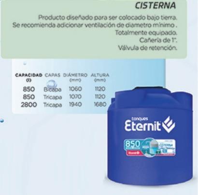 tanque cisterna Eternit