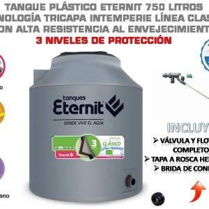tanque de agua eternit 750 litros
